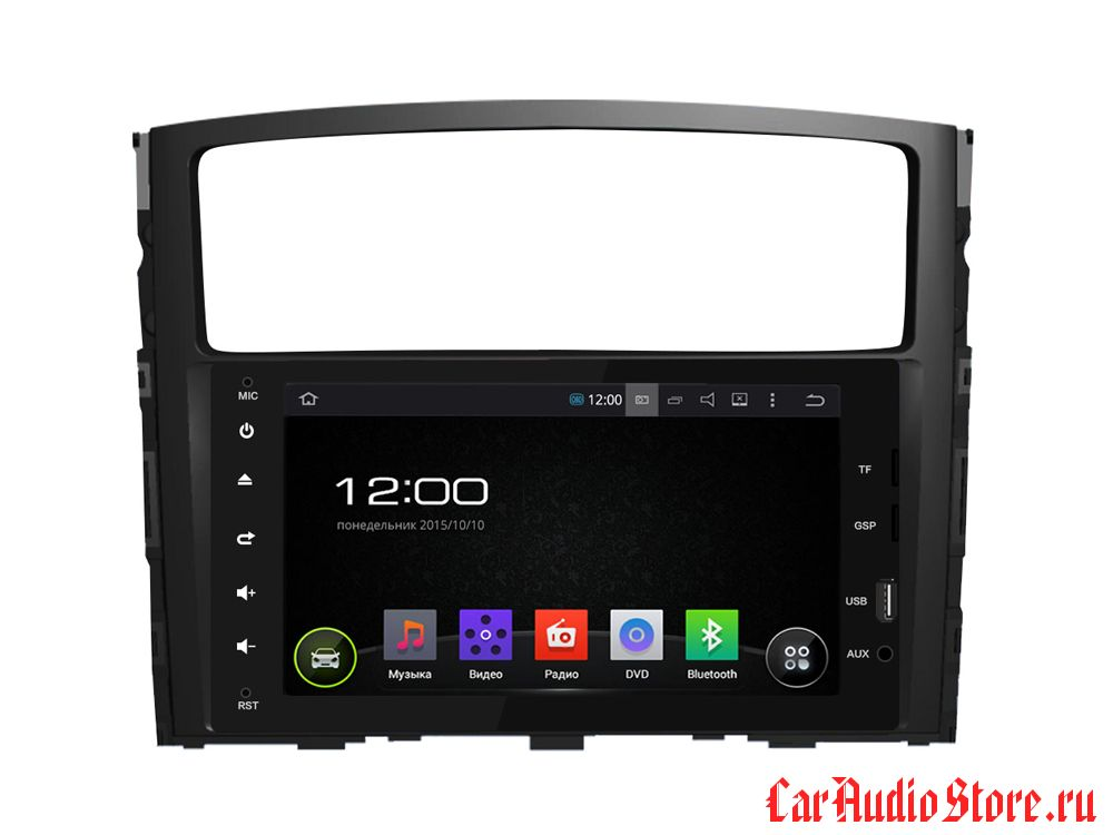 FarCar s130 для Mitsubishi Pajero на Android (R458BS)