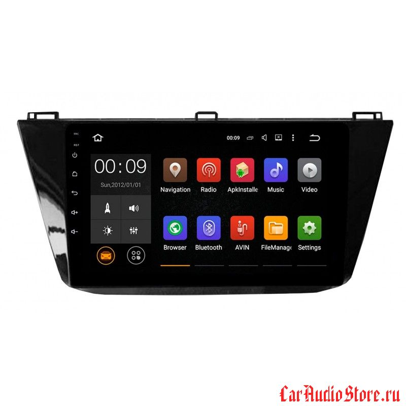 Roximo 4G RX-3714 для Volkswagen Tiguan 2017 (Android 6.0)