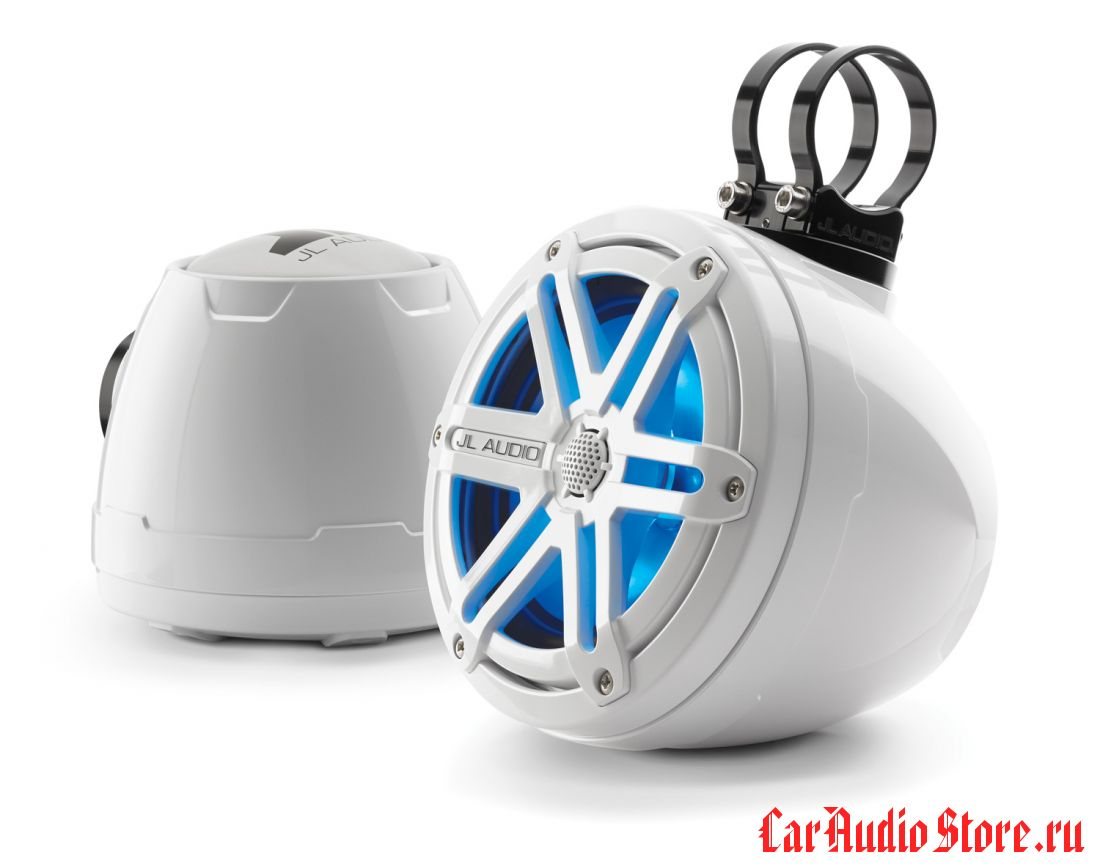 JL Audio PS650-VeX-SG-WGW-LDB Sport Gloss White