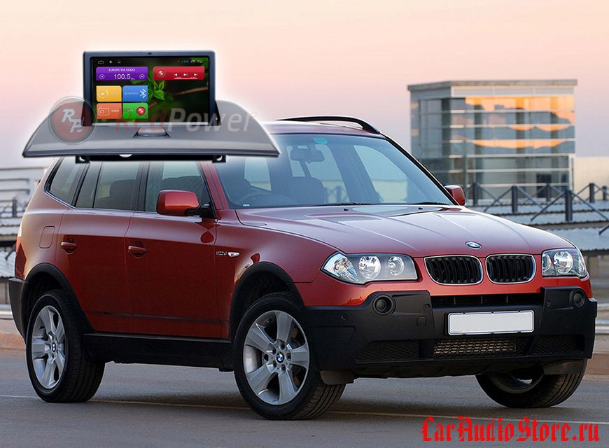 Redpower 21103B BMW X3 (2002-2010) Для авто без штатного монитора