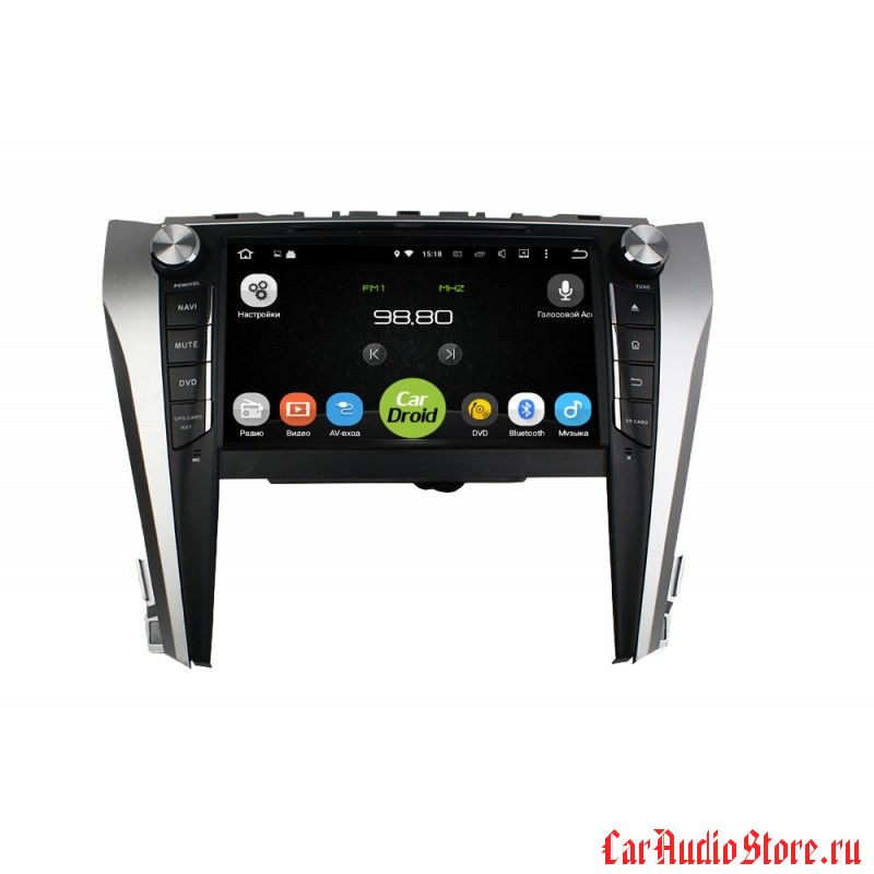 Roximo CarDroid RD-1107 для Toyota Camry 2015 (Android 6.0)