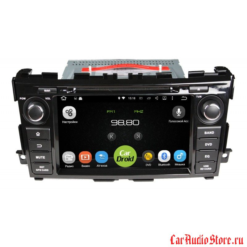 Roximo CarDroid RD-1203 для Nissan Teana 3, 2014 (Android 6.0)