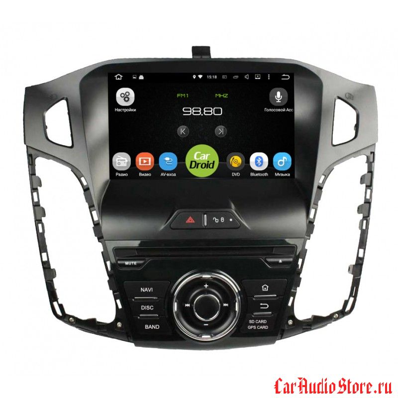 Roximo CarDroid RD-1701 для Ford Focus 3 (Android 6.0)