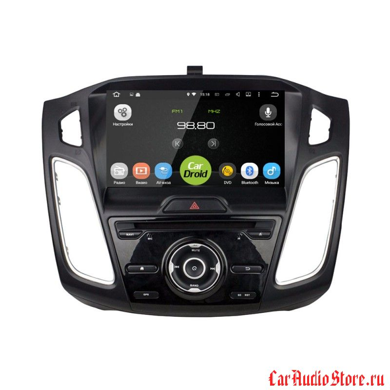 Roximo CarDroid RD-1705 для Ford Focus 3, 2015 (Android 6.0)