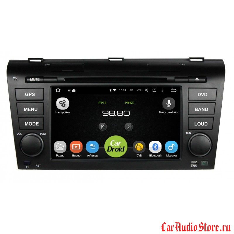 Roximo CarDroid RD-2403 для Mazda 3, 2004-2009 (Android 5.1.1)