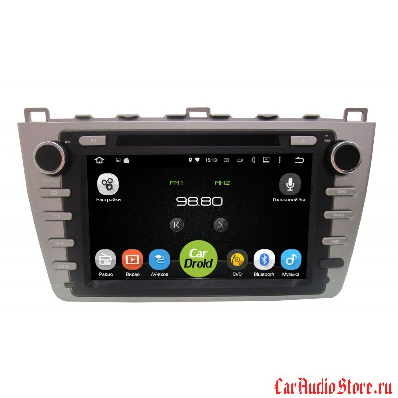 Roximo CarDroid RD-2405 для Mazda 6, 2008 (Android 5.1.1)