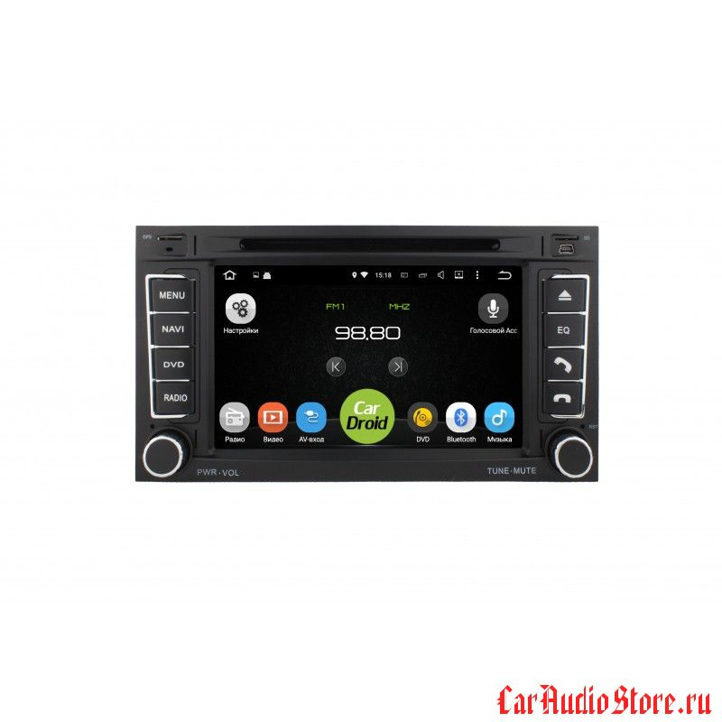Roximo CarDroid RD-3703 для Volkswagen Touareg, 2006 (Android 6.0)