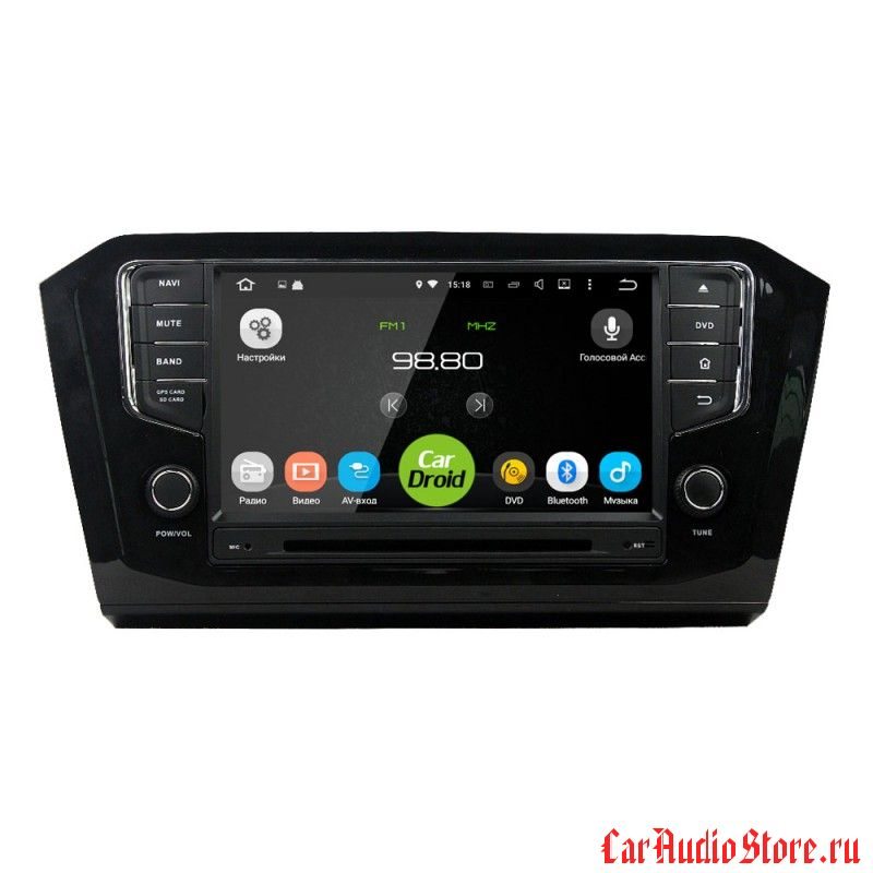 Roximo CarDroid RD-3713 для Volkswagen Passat 8 10 дюймов (сенсорная) Android 8.0 4GB