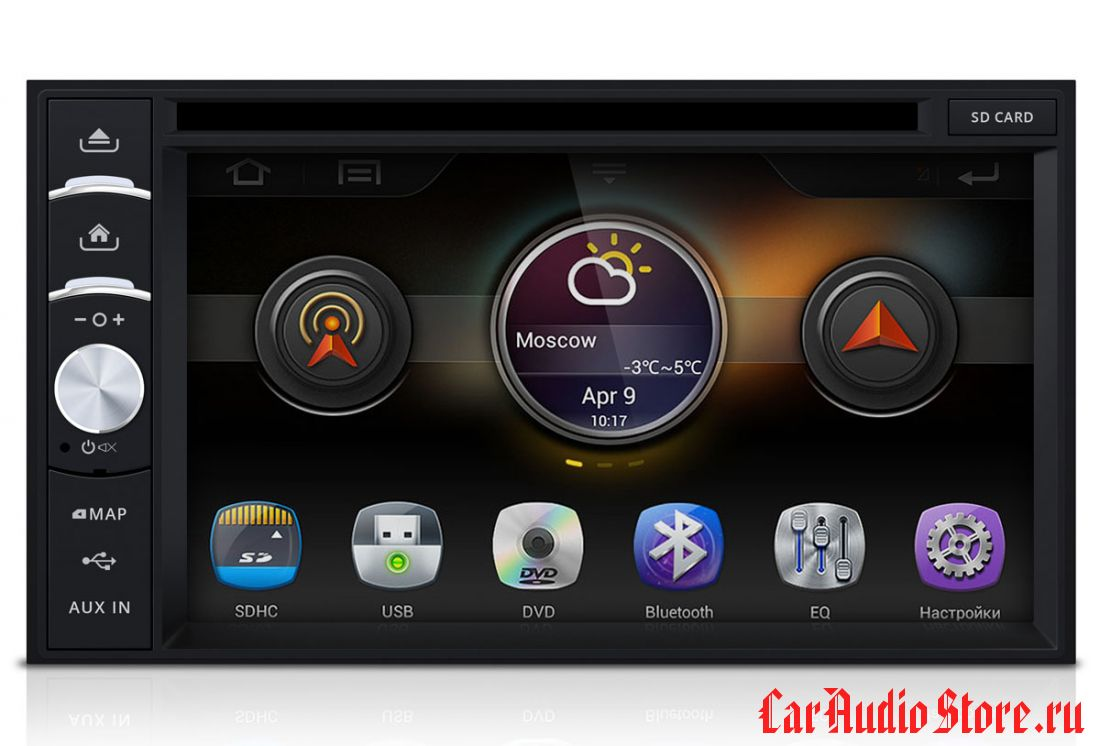 INCAR AHR-7280 UNIVERSAL 2din (Android) 6,5""