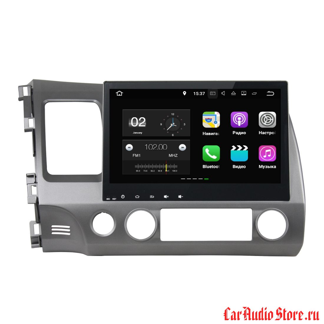 FarCar s130+ для Honda Civic 2006-2011 на Android (W044)