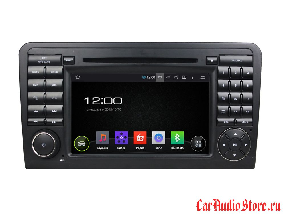 FarCar s130 для Mercedes Benz ML, GL на Android (R213)
