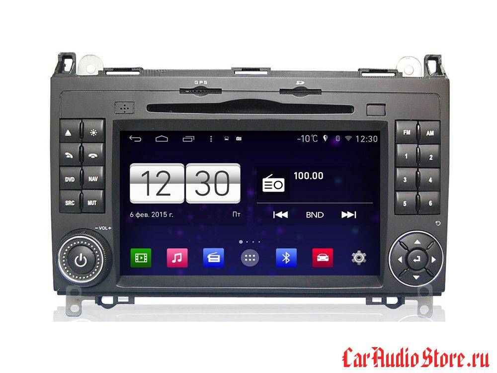 FarCar s160 для Mercedes-Benz A ,B, Sprinter, Viano ,VW Crafter на Android (m068)