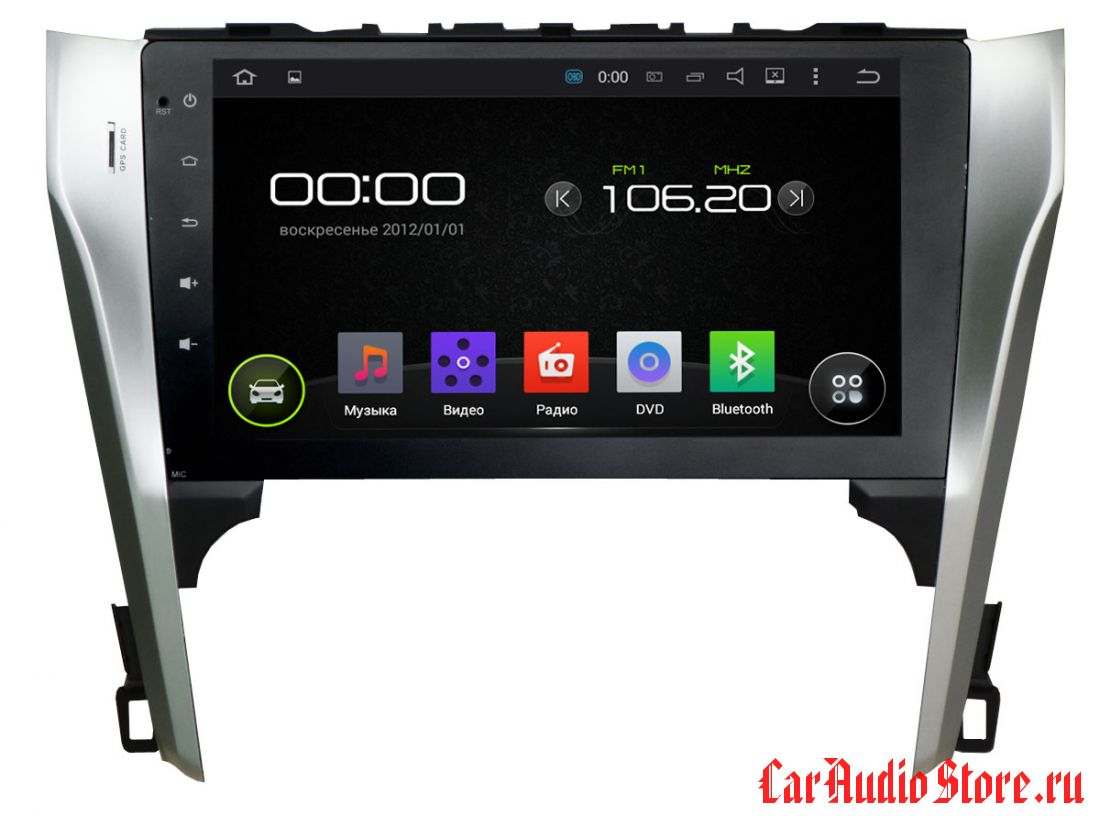 """INCAR AHR-2237 Toyota Camry 2012-2014 Android 5.1/1024*600,wi-fi, 10"""""""