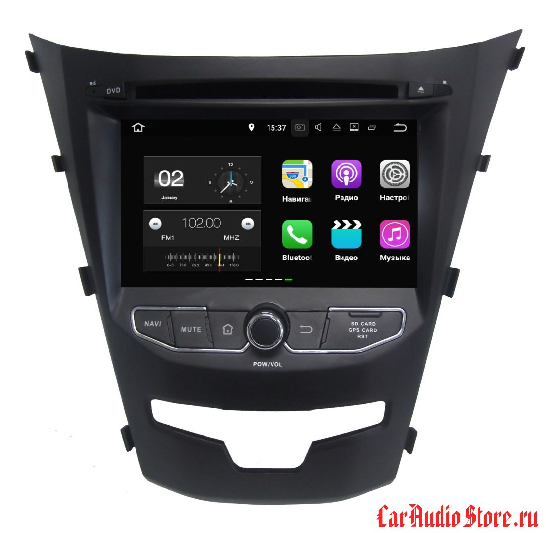 FarCar s130+ для Ssang Yong Actyon на Android (W355)