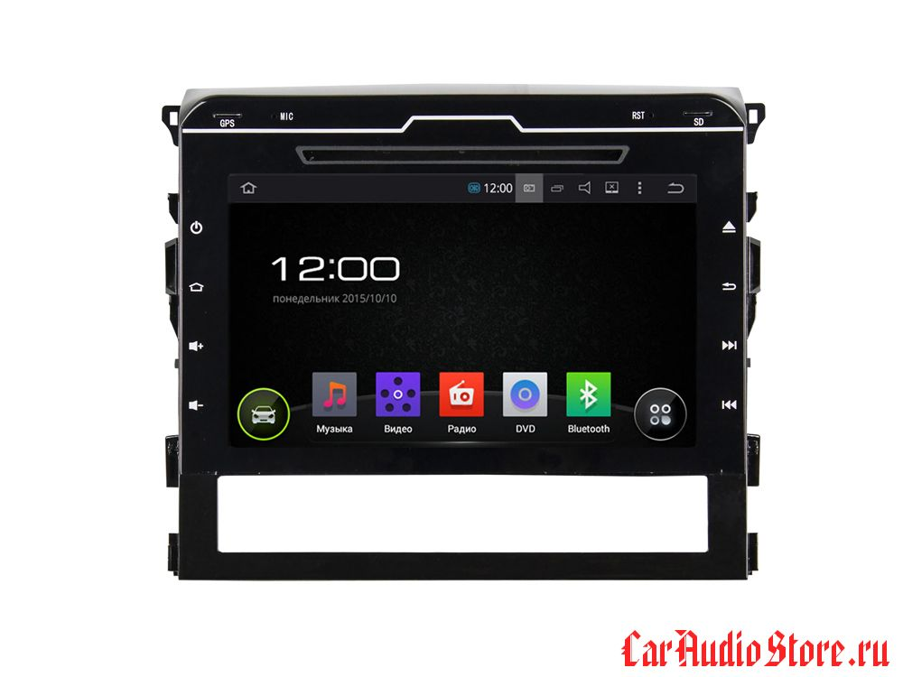 FarCar s130 для Toyota Land Cruiser 2016 на Android (R567)