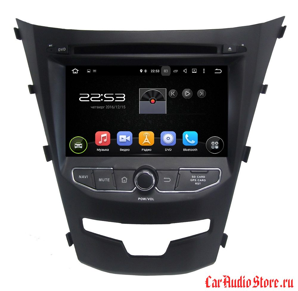 FarCar s130 для Ssang Yong Actyon 2013+ на Android (R355)
