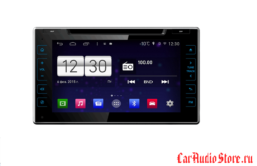 FarCar s160 для Toyota Hilux 2016+ на Android (m588)