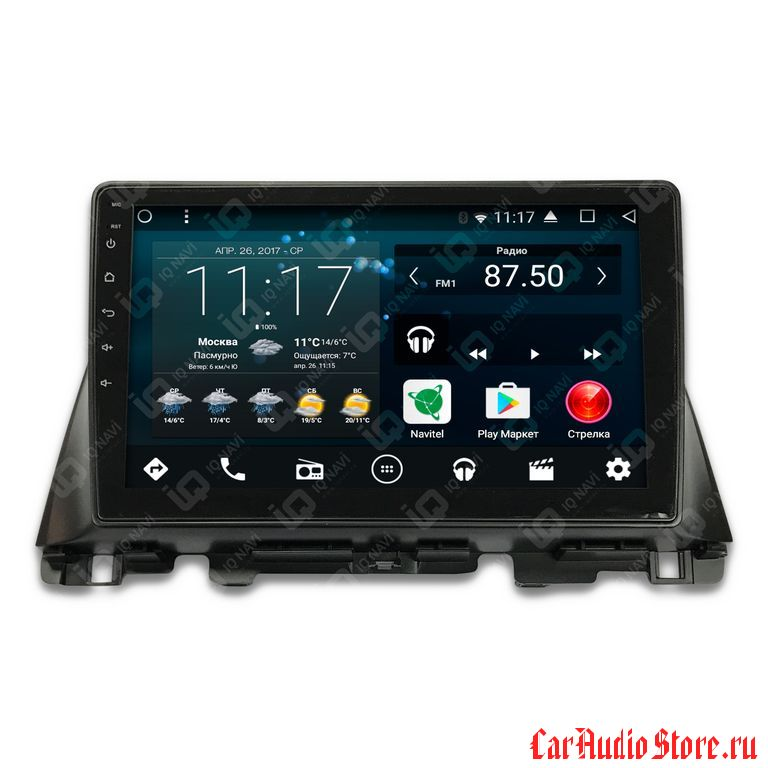 IQ NAVI T44-1717CF KIA OPTIMA (JF) (2016+) ANDROID 6.0.1 QUAD-CORE (4 ЯДРА) 10,1""