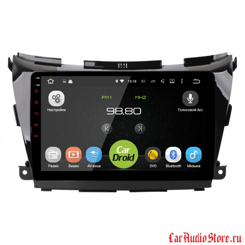 CarDroid RD-1206F для Nissan Murano 3, Z52 (Android 6.0)