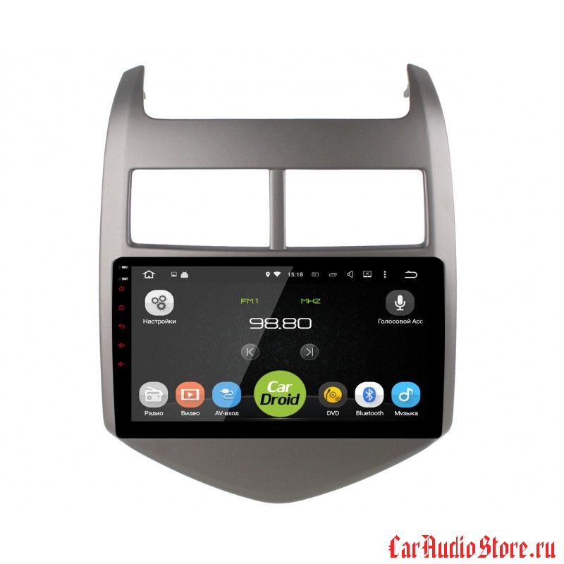 CarDroid RD-1310F для Chevrolet Aveo 3 2011 (Android 6.0)