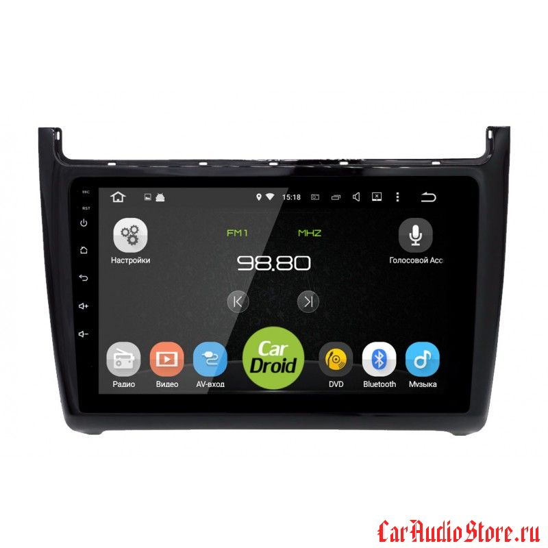 CarDroid RD-3707F для Volkswagen Polo (Android 6.0)