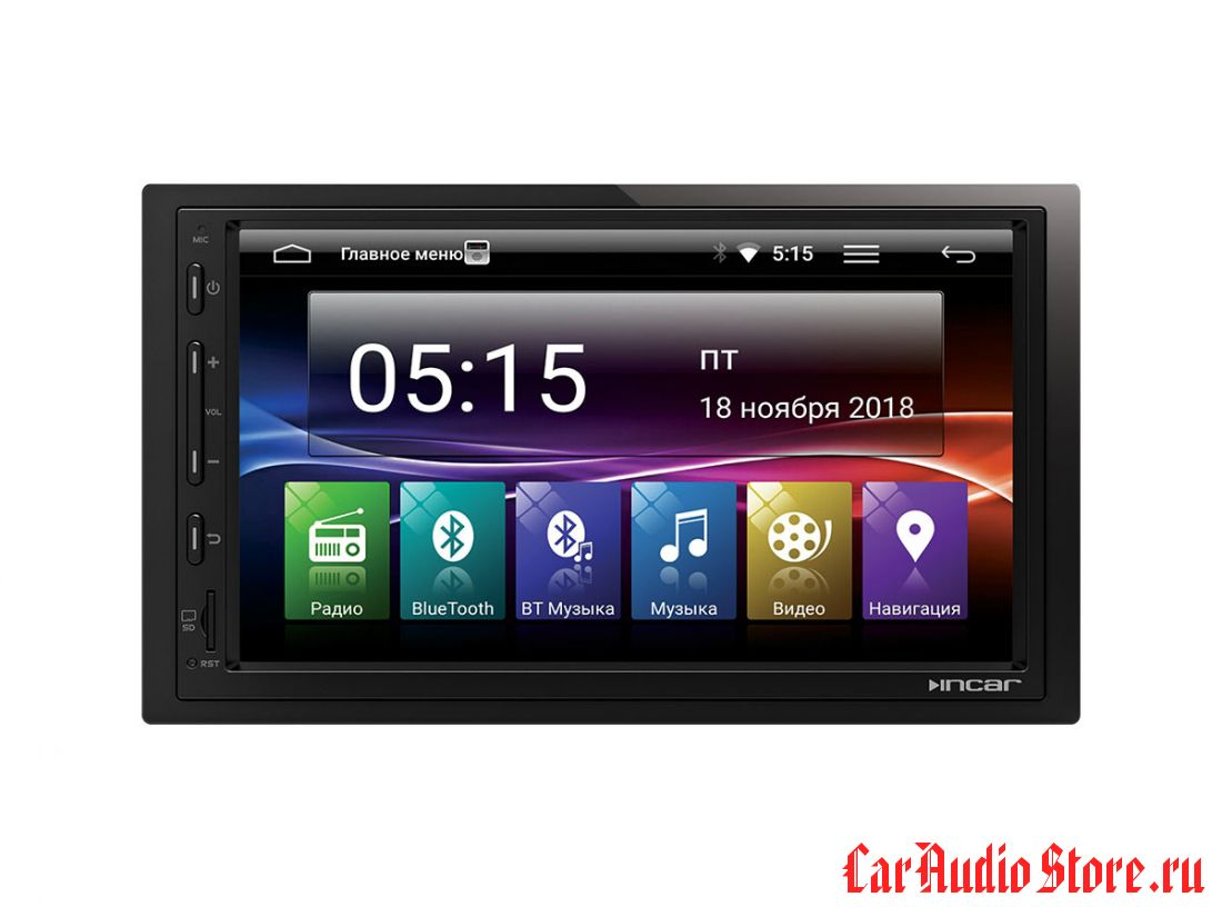 """Incar AHR-7480 Universal 2din (Android 7.0) 7,0"""""""